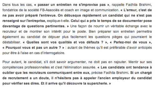 Itv_OuesT_France_Fadhila_Brahimi_Erreur_Recrutement2