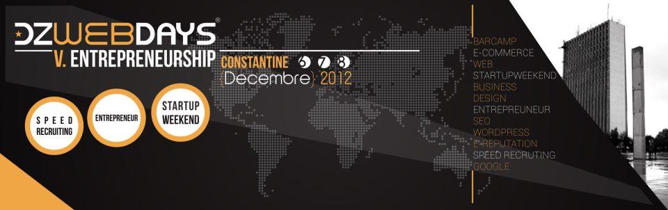 DZWebDays_Constantine_Algerie_Conference_EntrepreneurShip
