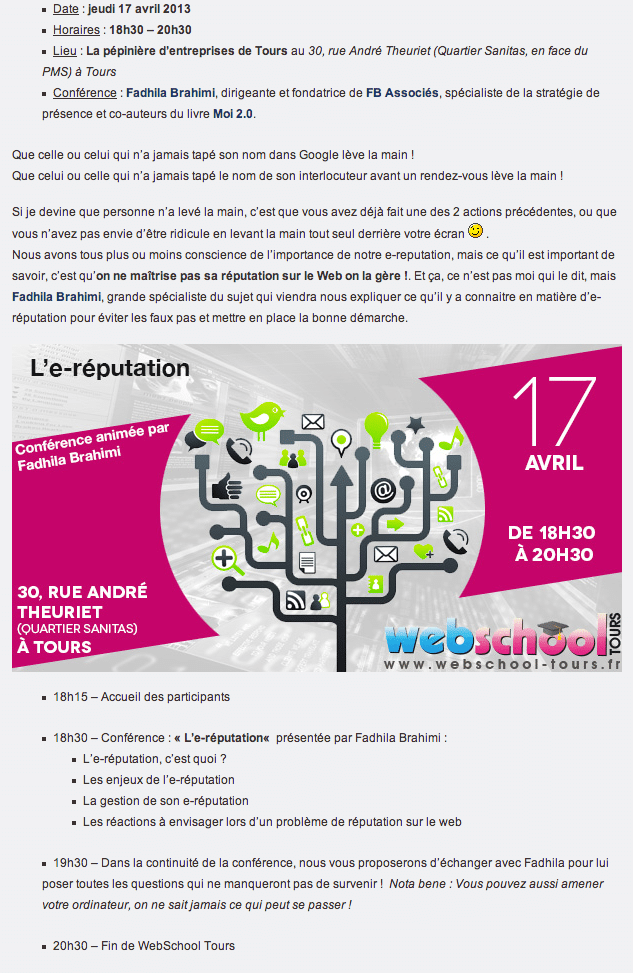 Conference-ereputation-webschool-fadhila-brahimi_programme