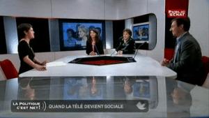 LA POLITIQUE C'EST NET La Social TV Diffusée le 18/04/2013  Durée : 29 minutes
