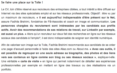Fadhila_Brahimi_Personal_Branding_Ouest_France_Recrutement