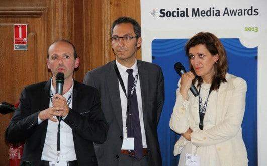 Crédit Photo Hasni Khabeb De gauche à droite : A. Derhy (Directeur ESG), Hervé Kabla (DG Be Angel), H. Cherif (Maître de conférences Paris 1)